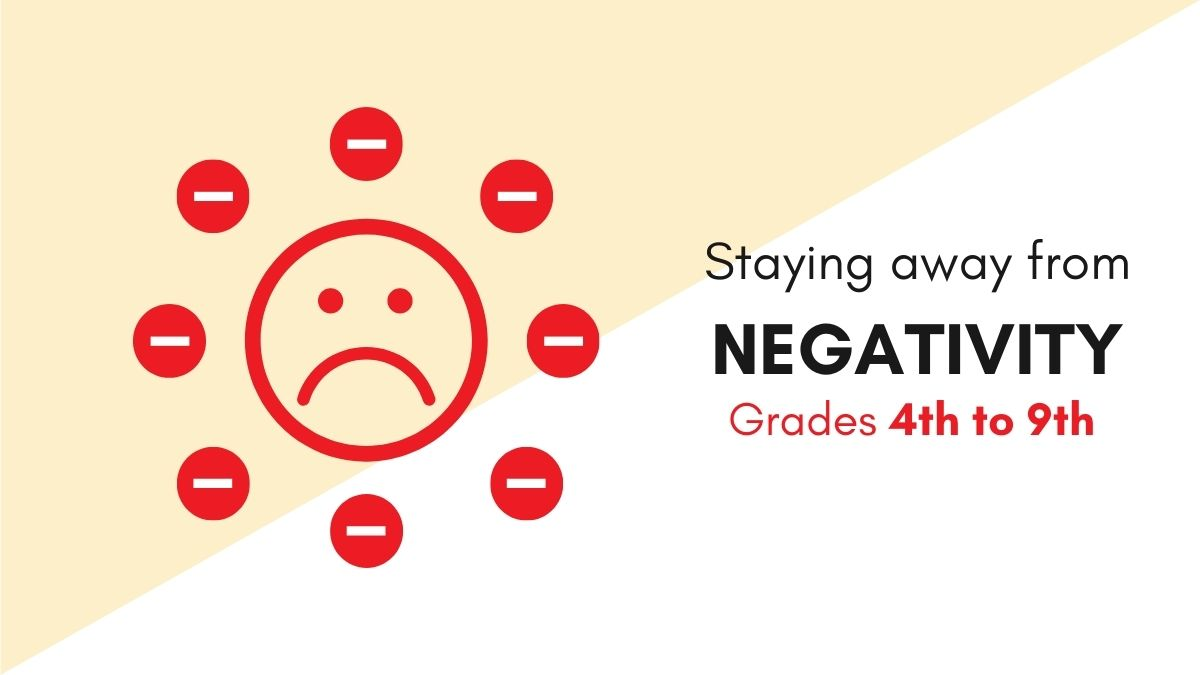 Staying Away From Negativities